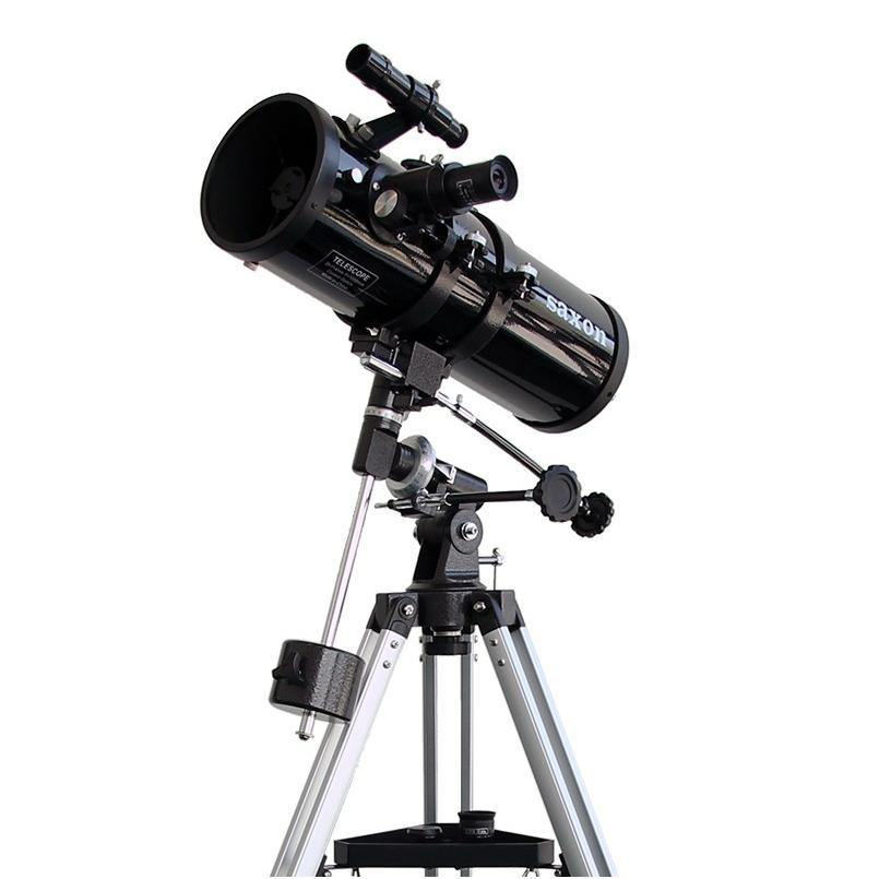 saxon 1141 EQ Reflector Telescope