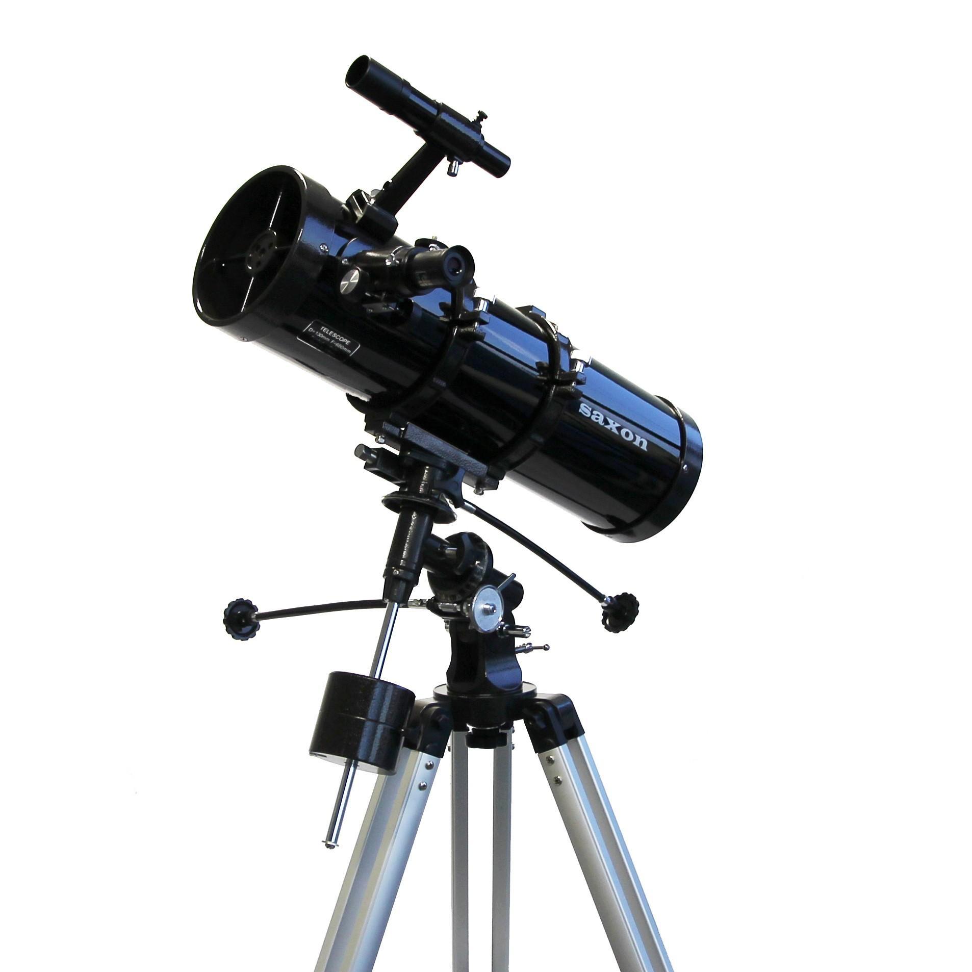 saxon 13065EQ2 Velocity Reflector Telescope w/ Motor Drive System