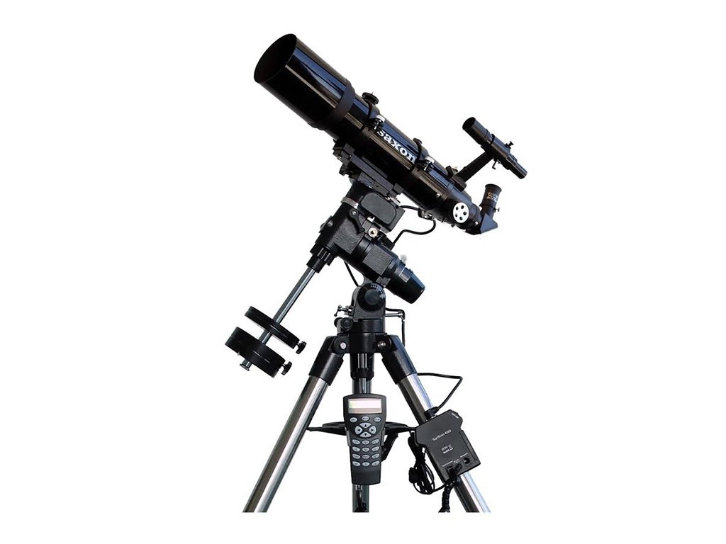 saxon ED80 Refractor Telescope with GoTo EQ3 Mount Starter Astrophotography  Bundle