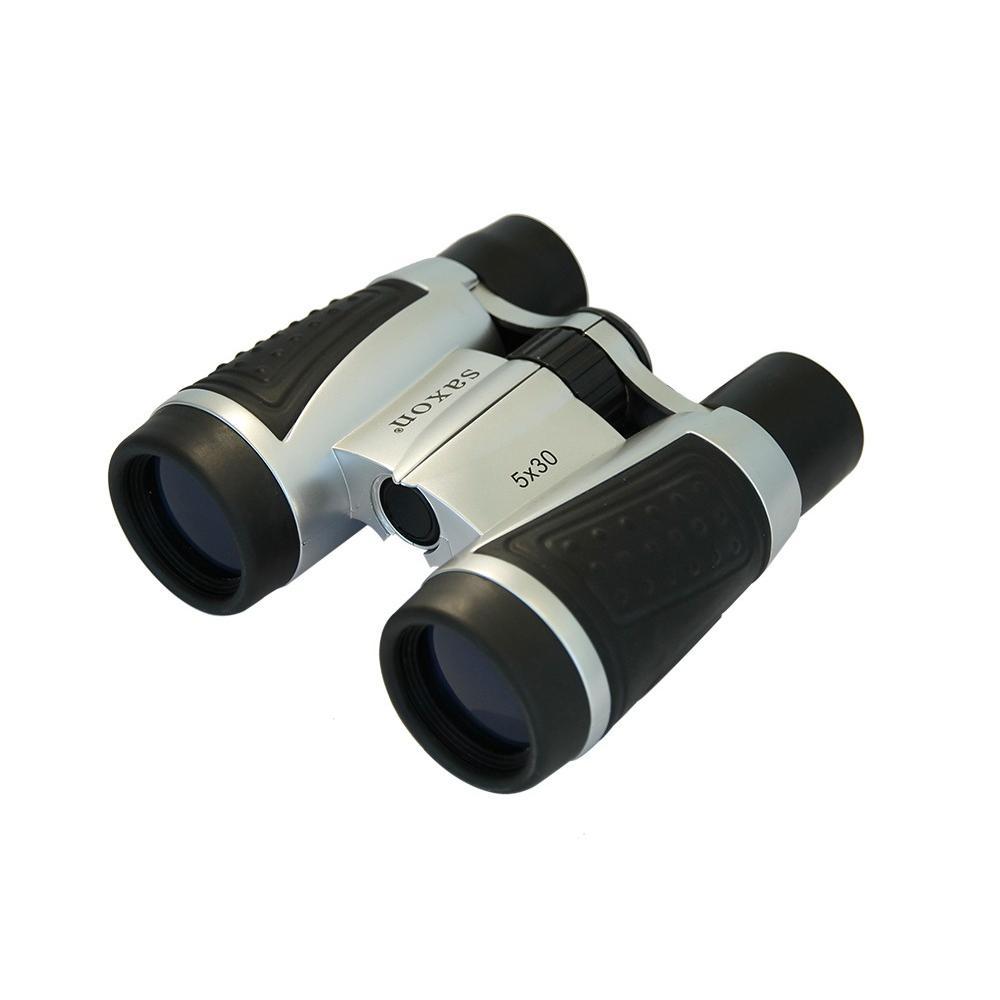 Saxon 5×30 Compact Binoculars w Strap