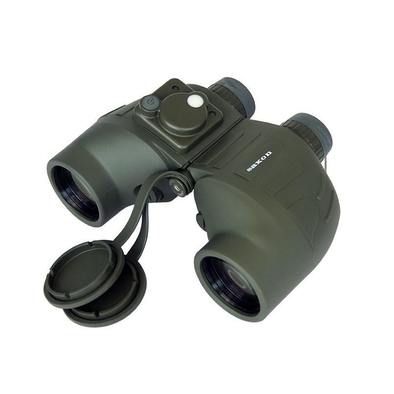 saxon 7×50 Military Binoculars w/ Compass