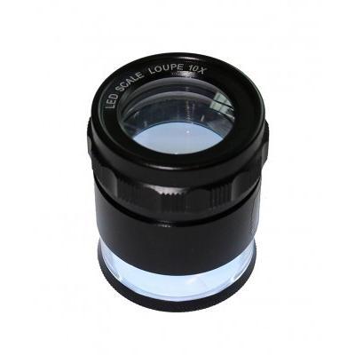 Saxon 10x LED Scale Magnifier