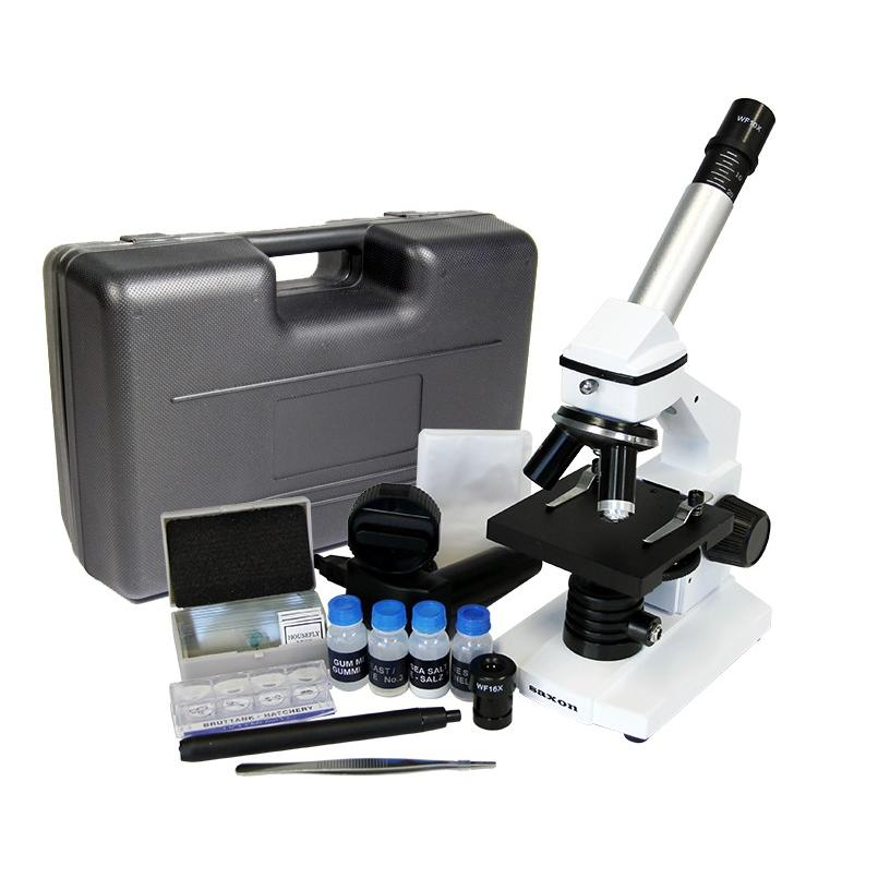 saxon TKM ScienceSmart 40/400x Biological Digital Microscope Kit