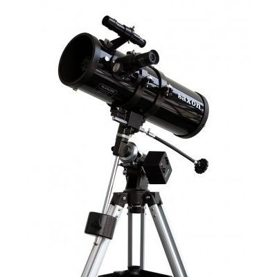saxon 1141 EQ Reflector Telescope w/Motor Drive