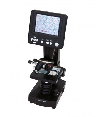 saxon ScienceSmart 8MP LCD Digital Microscope