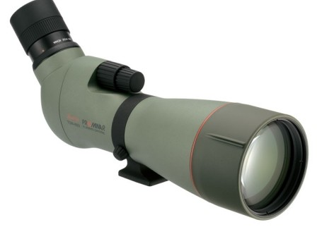 Kowa 880 Prominar Series 88mm ED Dual Focus Spotting Scope Angled   25-60x Eyepiece