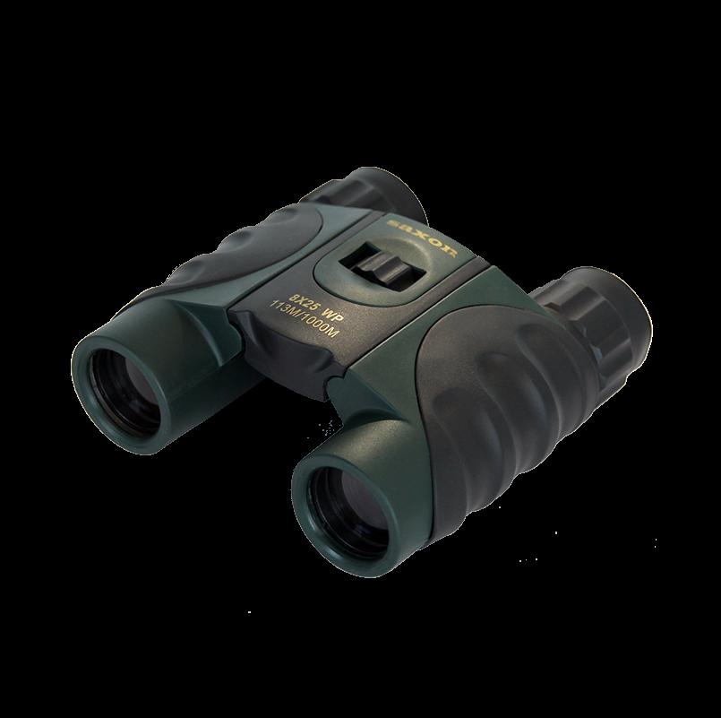 saxon 8×25 MWP Compact Waterproof Binoculars