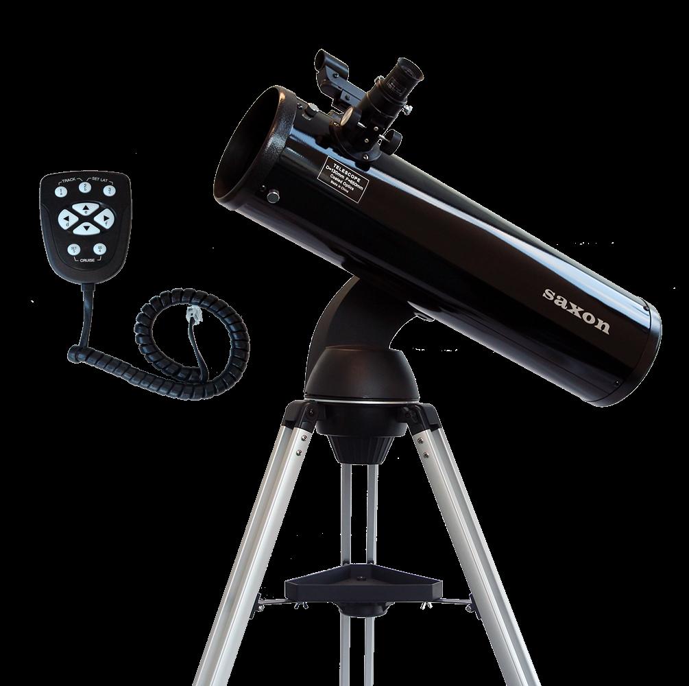 saxon 13065 AT Reflector Telescope with SynTrek Controller