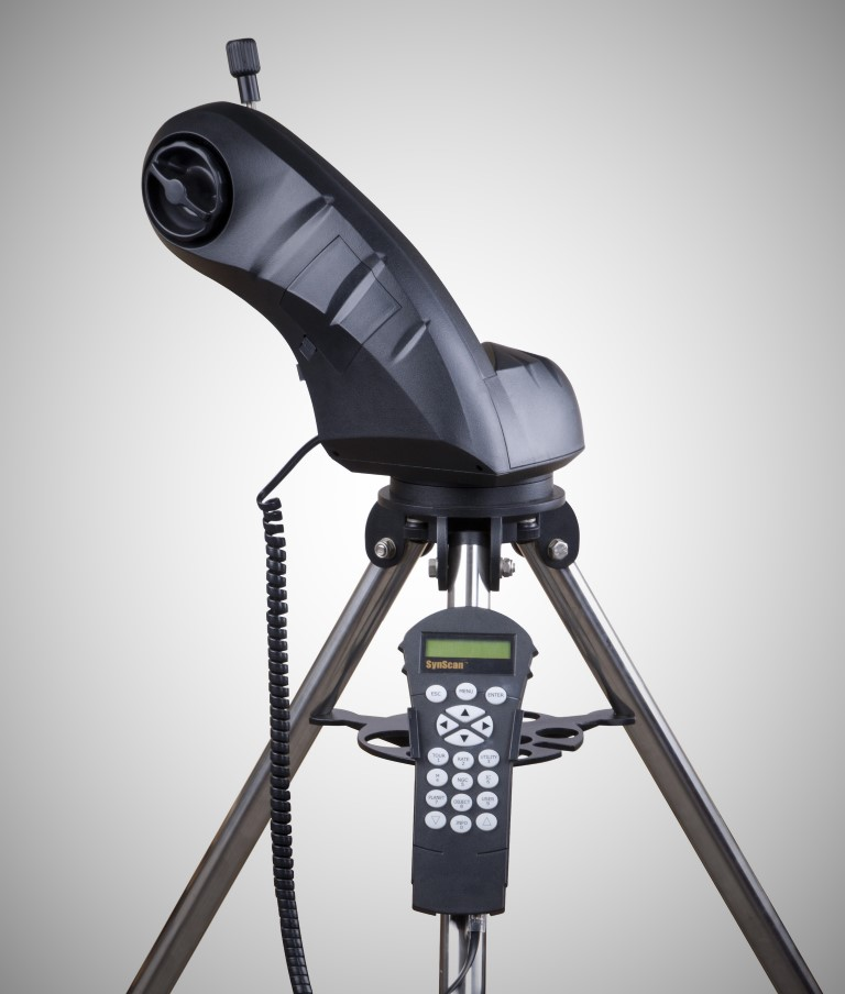 saxon AstroSeeker Mount with Steel Tripod -WiFi Enabled with Hand Controller
