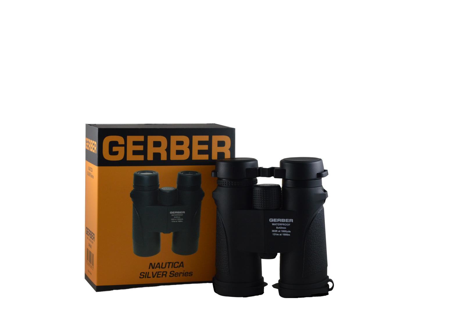 Gerber Nautica Silver 8×42 Binocular