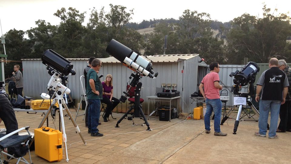 Meet Stargazers Club WA Members at Golden Grove