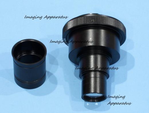CANON DSLR/SLR CAMERA LENS ADAPTER FOR C-MOUNT TRINOCULAR MICROSCOPE PHOTOTUBES