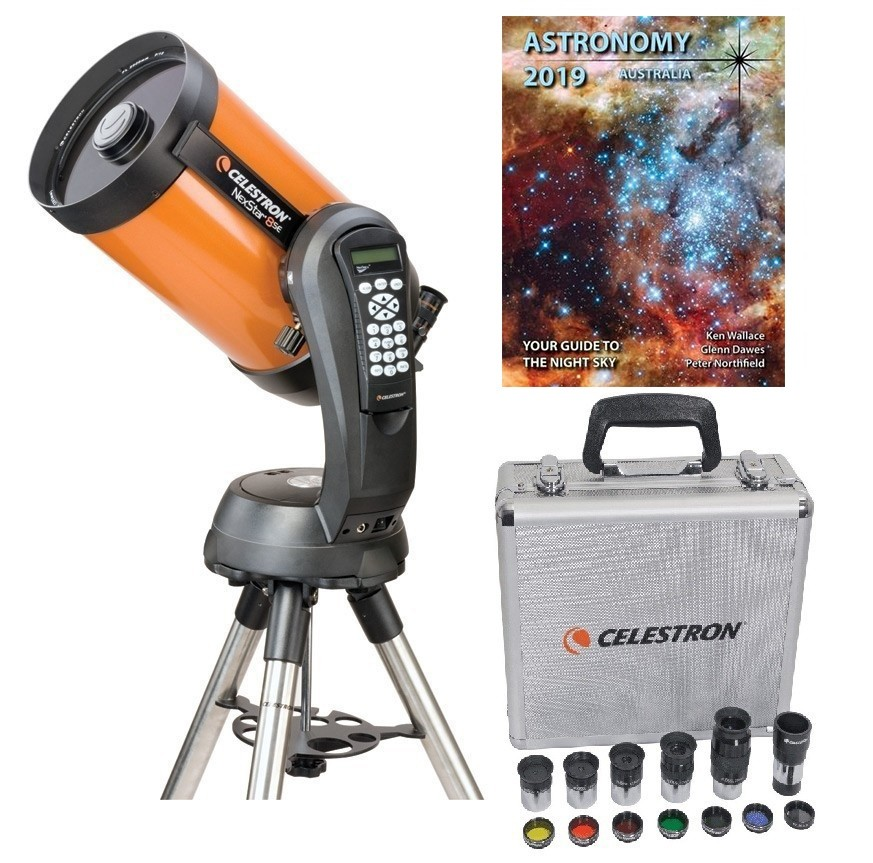 Celestron Nexstar 8 SE Computerised Cassegrain Telescope Exclusive Bundle