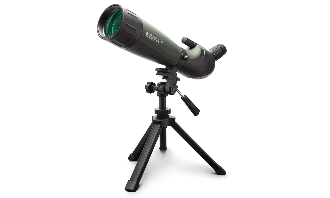 Konus 20-60×80 KonuSpot-80 Angled Spotting Scope w/Tripod