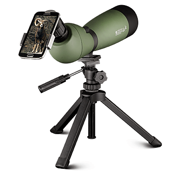 Konus 20-60×70 KonuSpot-70 Angled Spotting Scope w/Tripod