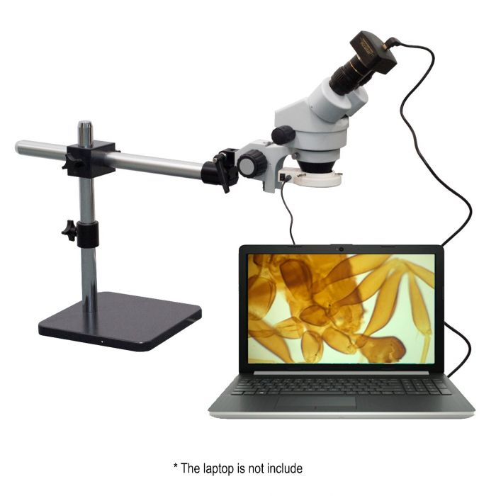 saxon Biosecurity Inspection Microscope 7x-45x with 3MP Camera