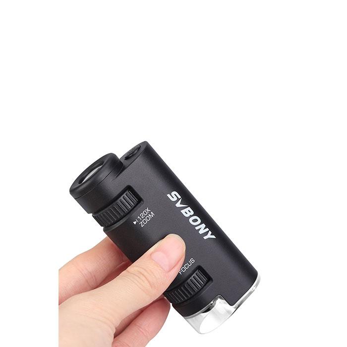 60x-120x Portable Handheld Microscope