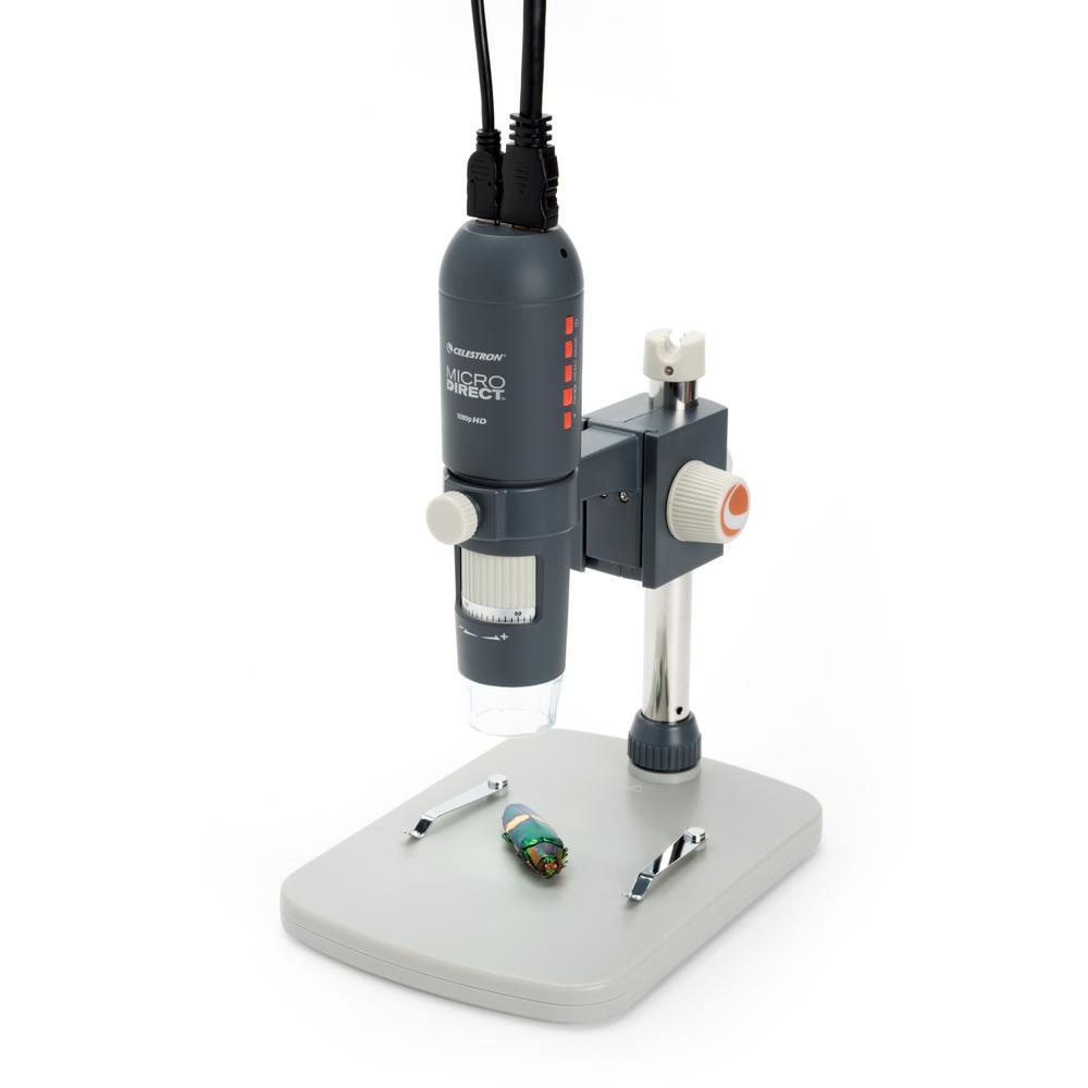 CELESTRON MICRODIRECT 1080P HDMI HANDHELD DIGITAL MICROSCOPE